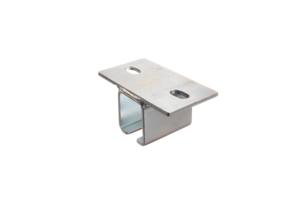 Okucia ekranów spawalniczych - mocowanie sufitowe szyny KIN34