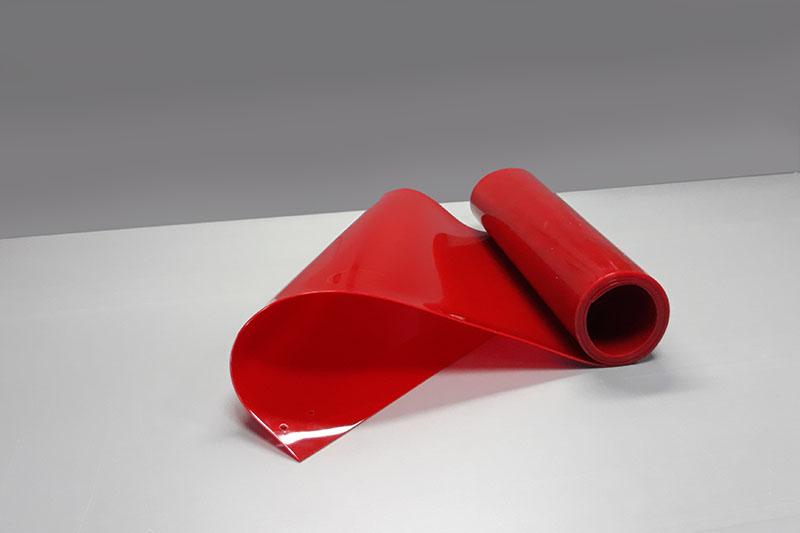 Czerwone pasy spawalnicze przyciete do najpopularniejszych długości