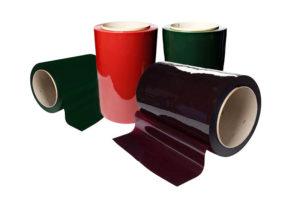 Rolki folii paskowej spawalniczej w czterech kolorach