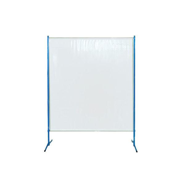 Transparentny ekran ochronny ES145 - osłona przed pyłem, drobnoustrojami, kurzem, odpryskami