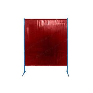 Czerwony ekran spawalniczy ES145 Kiner chroniący przd promieniowaniem podczerwonym