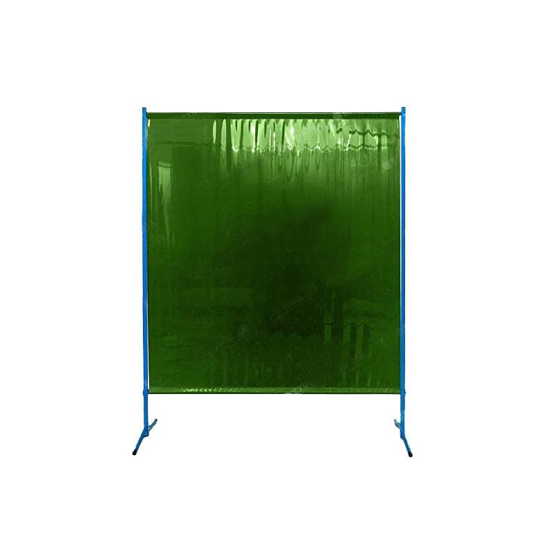 Zielony ekran spawalniczy ES145 - przeciwpromienny