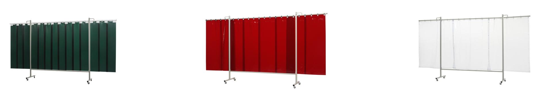 Ekran spawalniczy zielony czerwony lub przejrzysty Kiner