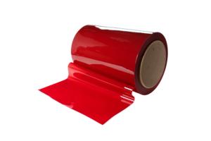 Folia spawalnicza czerwona w rolce 570mm