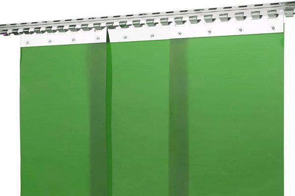 Kurtyna spawalnicza zielona KIN-4