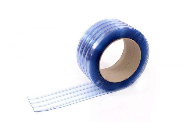 Folie ochronne, transparentne, żebrowane, paskowe PCV KIN-0Z