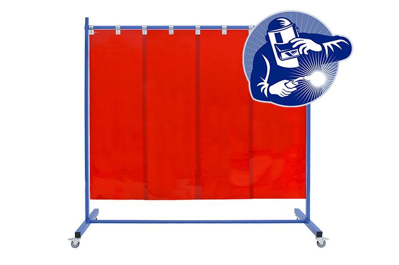 Ekran spawalniczy KinerFlex21p570 - ochrona przed promieniowaniem podczerwonym i ultrafioletowym