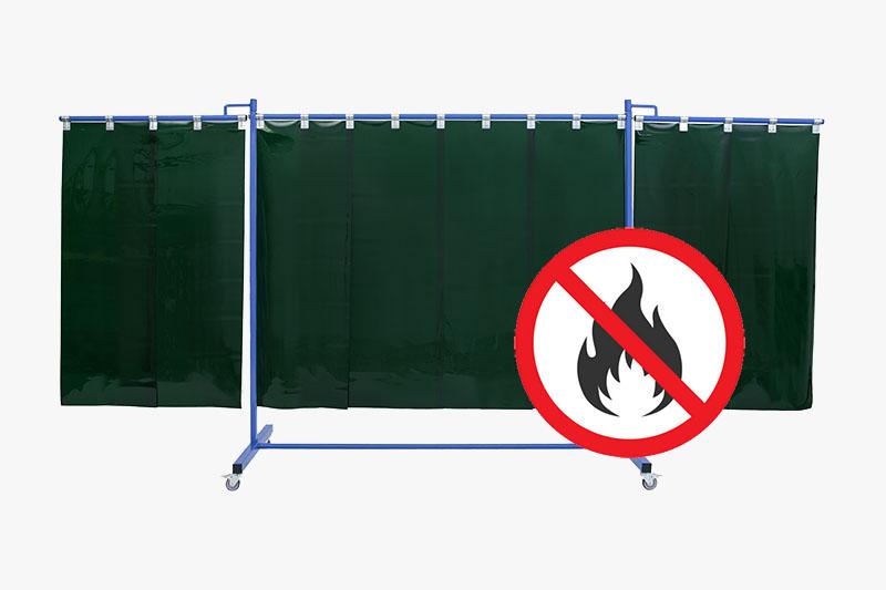 Odporny na ogień ekran spawalniczy KinerFLex37P570