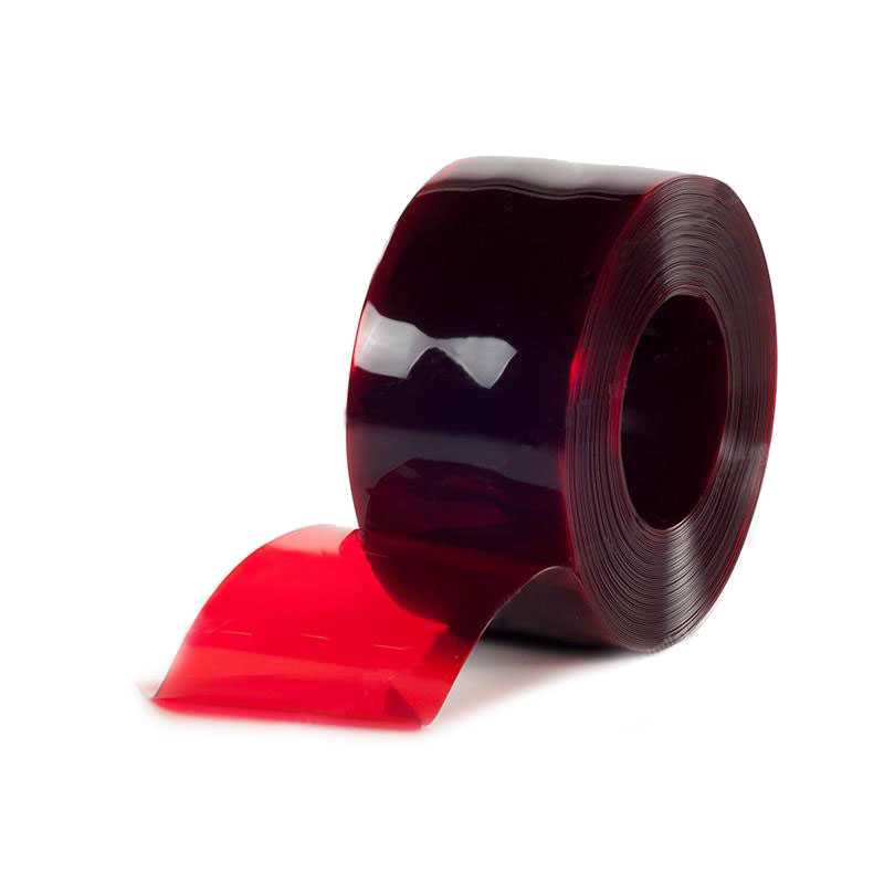 Folia paskowa o zabarwieniu czerwonym, transparentna
