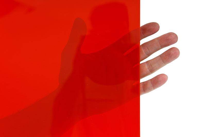 Najbardziej przezroczyste pasy spawalnicze czerwone o szerokości 570mm i grubości 1mm