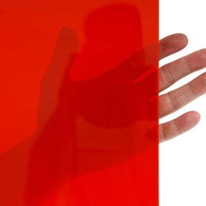 Przezroczysta lamela spawalnicza czerwona