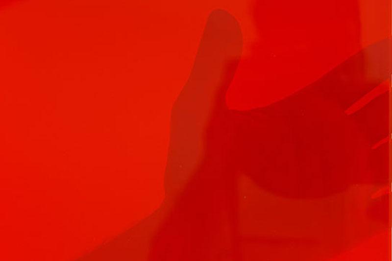 Przezroczyste czerwone pasy spawalnicze