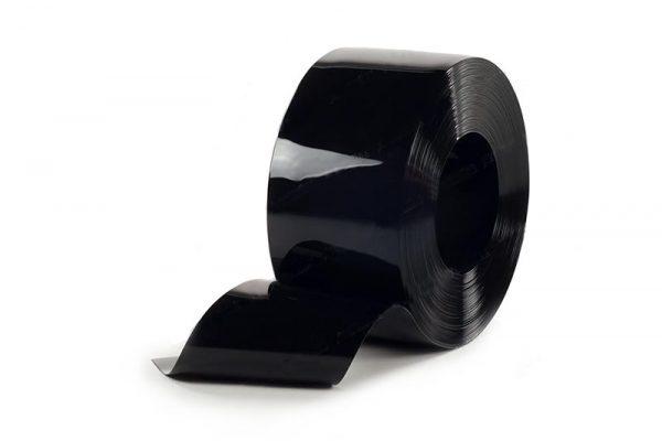 Folia PCV ochronna czarna, nietransparentna KINER