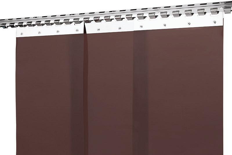 Kurtyna spawalnicza brazowa z pasów foliowych 300x2mm