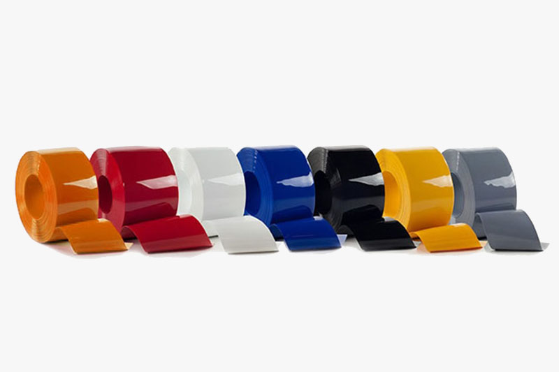 Kolorowa folia ochronna o dużej wytrzymałości mechanicznej