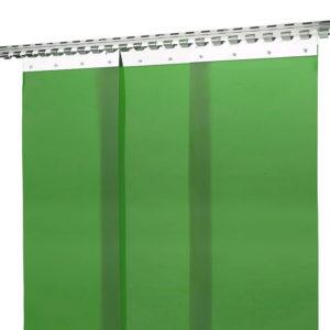 Przeciwpromienna kurtyna spawalnicza zielona KS300-KIN-4