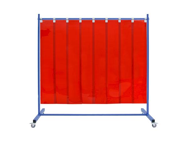 Ekrany spawalnicze z lamelami 300x2mm odpornymi na odpryski spawalnicze