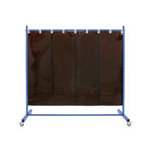 Brązowy ekran spawalniczy 210 pasy 570x1mm brązowy