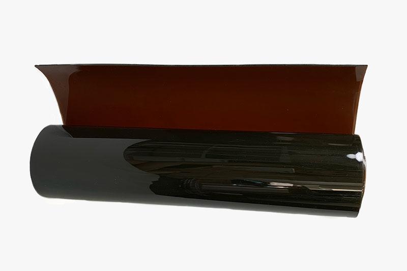 Drugi stopień przezroczystości lameli spawalniczych kolor brązowy
