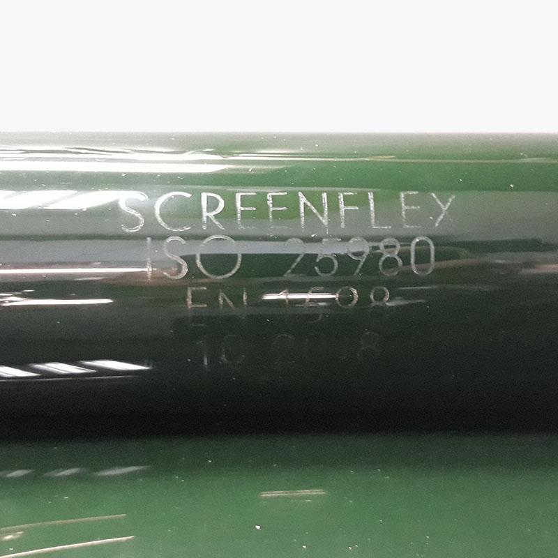 Pasy foliowe ScreenFle do kurtyn spawalniczych chroniących przed promieniowaniem zgodnie z ISO25980