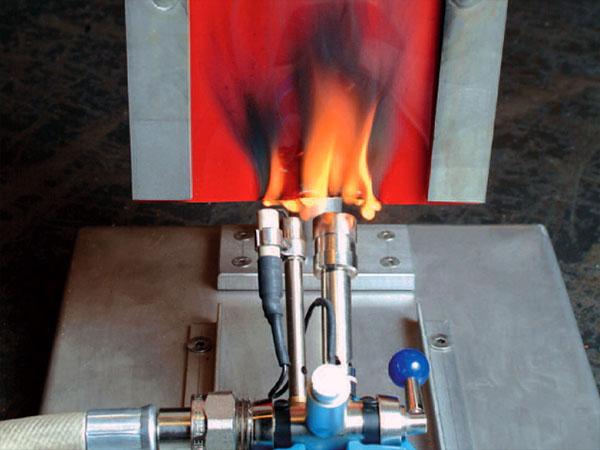Trudnopalne lamele spawalnicze 300x2 mm odporne na rozżarzone odpryski spawalnicze